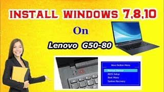 Video How to Clean Install Windows 7,8,10 on Lenovo G50-80 || RJ Solution || download MP3, 3GP, MP4, WEBM, AVI, FLV Juni 2018