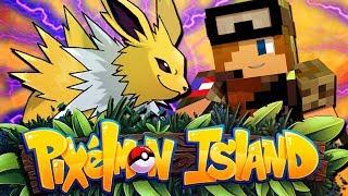 LEVEL 100 JOLTEON?! - Pixelmon Island Season 2 Episode 16 (Minecraft Pokemon!)