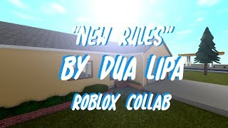 """New rules"" by Dua Lipa ll Roblox collab ll FT. 10 other amazing YouTubers"