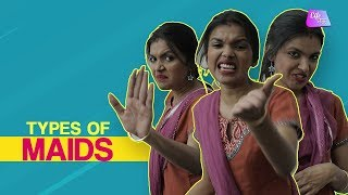 Types of Maids We All Know| Maid Problems | Desi Maid | LifeTak