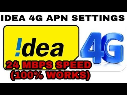 How to increase Idea 4g internet speed in Android with proof    | Idea 4g  APN Settiing 2018