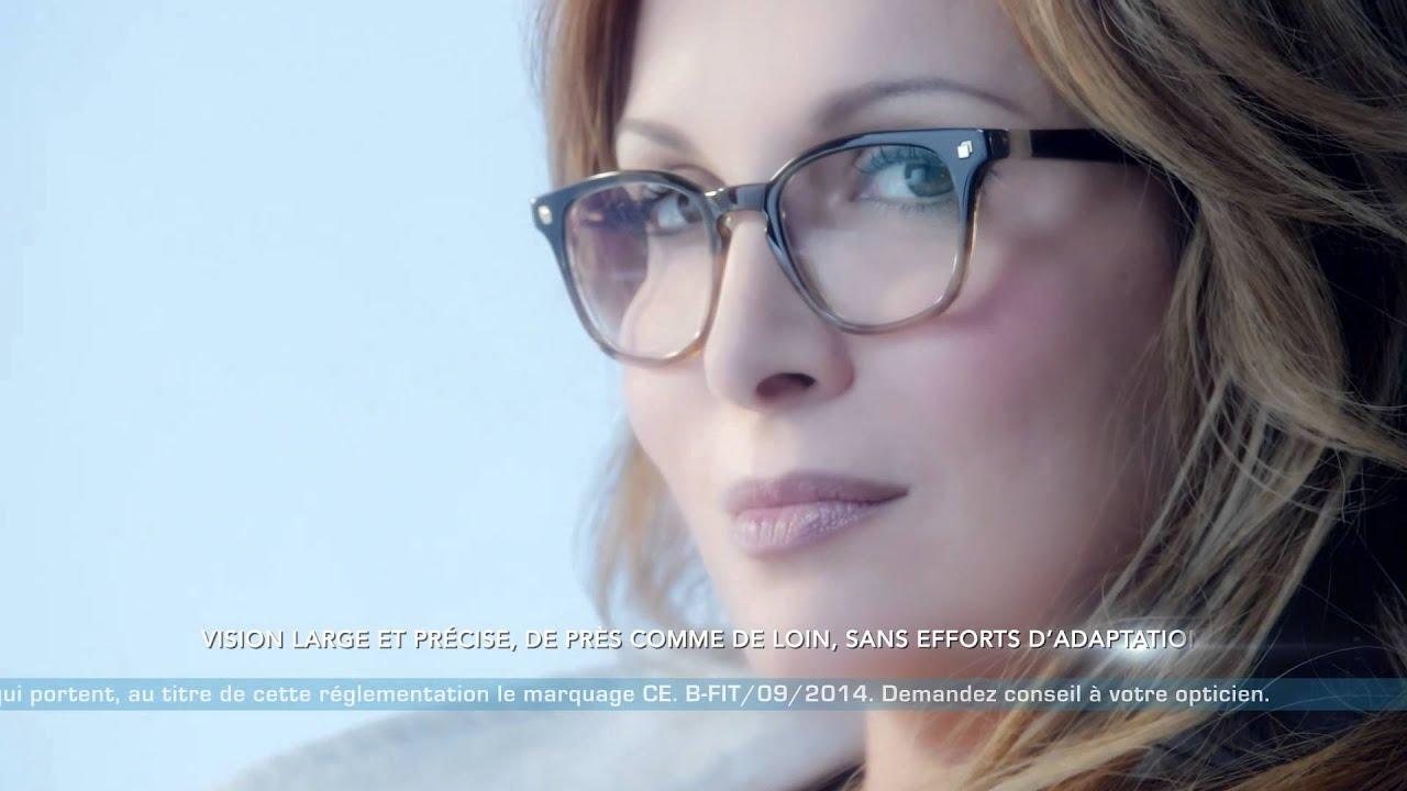 2ad2a483fd Hélène Ségara séduite par les verres progressifs Ophtalmic B-FIT ...