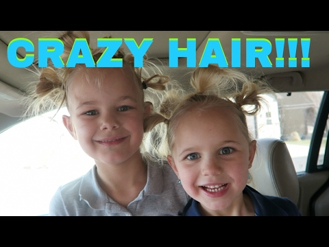 What did you do to my hair?!  | crazy hair day
