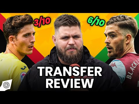 A Heavy Price On Grealish?   Transfer Review w/ Stephen Howson