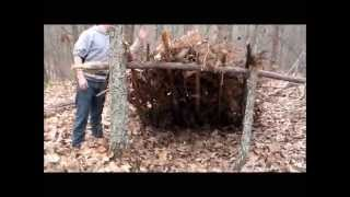 How To Make A Lean-to Survival Shelter