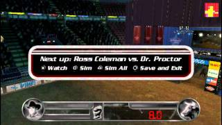 Pro Bull Riders Out of the Chute - PSP gameplay