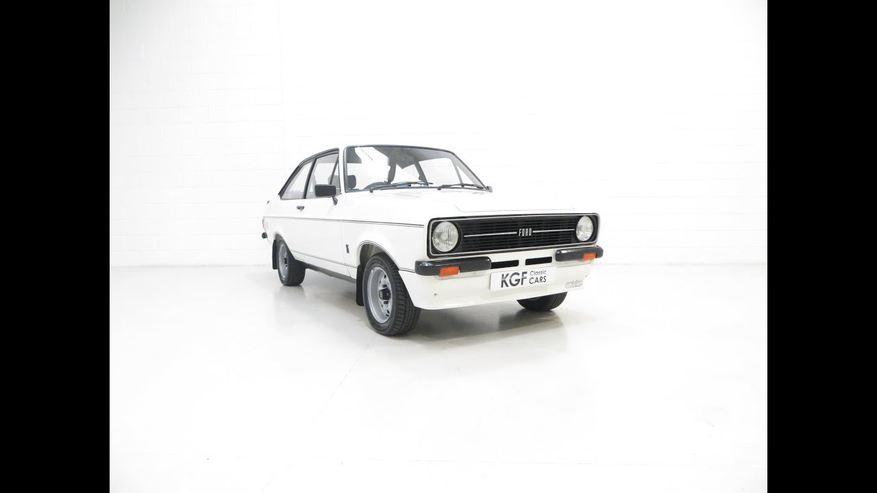 An Exceptional, Very Rare Rallye Sport Mk2 Ford Escort RS Mexico ...