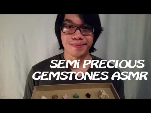 Semi-Precious Gemstones Soft Speaking ASMR