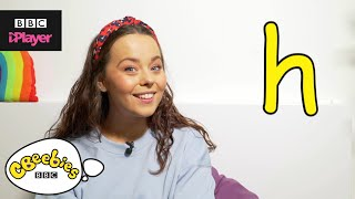 "Learn letter ""h"" with Evie and Dodge 