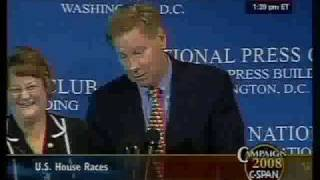 Tom Davis on Voter Suppression: CSPAN 10/10/08