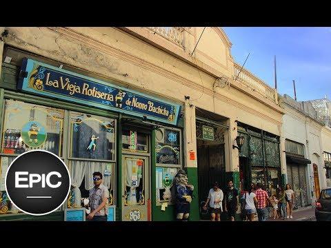 Mercado de San Telmo - Buenos Aires, Argentina (HD)