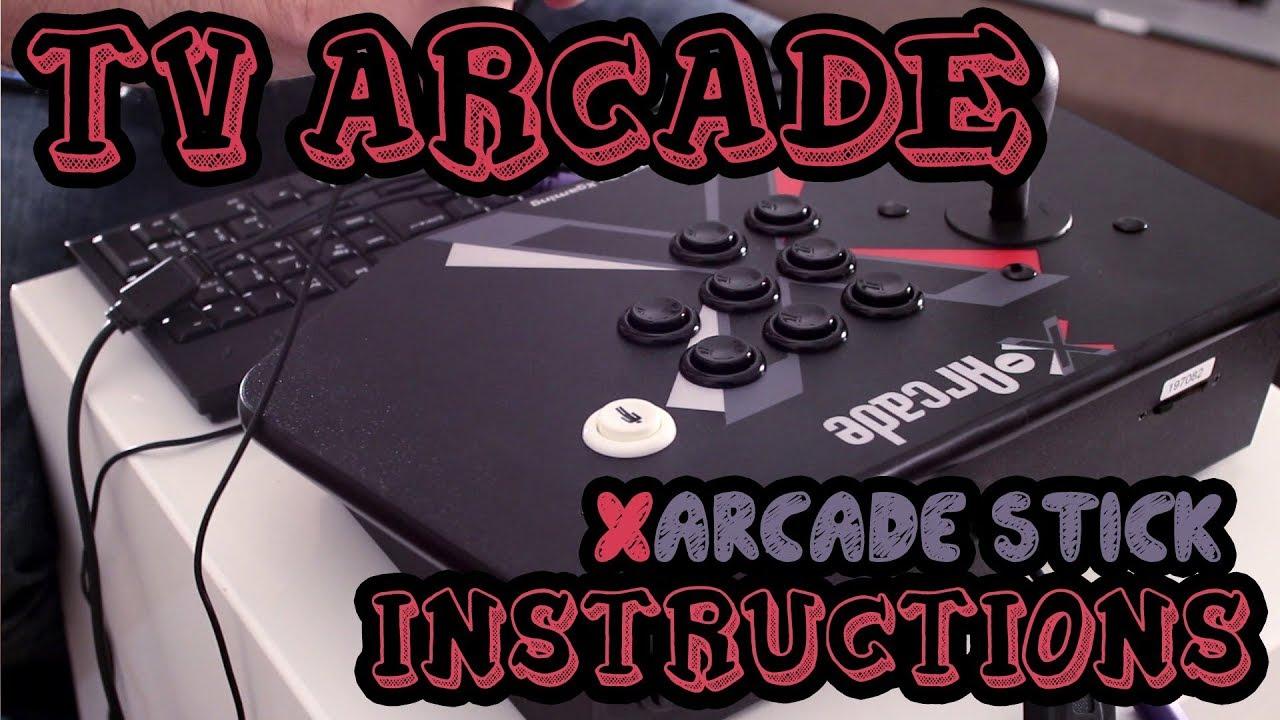 X-Arcade™ Programming Guide : Xgaming
