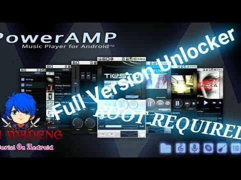 Get Latest Poweramp Music Player Full Version 100% Working Proof without Root & Root Method