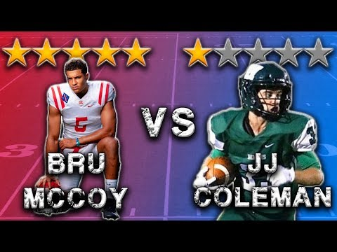 5 Star Athlete vs 1 Star Athlete