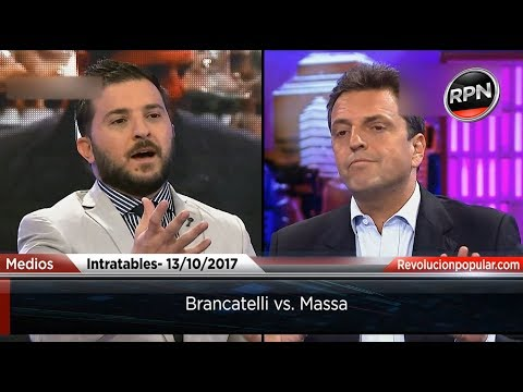 Brancatelli vs. Massa en Intratables.