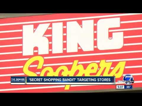 Bold serial robber dubbed'Secret Shopper Bandit' targeting Denver-area Kings Soopers