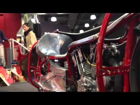 Motorcycle Show In Javits Center , Manhattan , NY