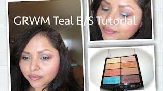 GRWM + Spring Teal E/S Tutorial Thumbnail