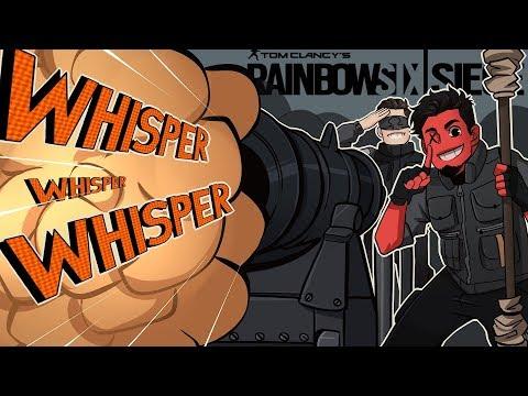ALL HAIL THE WHISPER CANNON! | Rainbow Six: Siege (w/ Ohmwrecker) R6 Operation Chimera