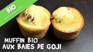 Muffin BIO aux baie de Goji(Une recette de muffin bio aux baie de goji, délicieuse et tellement rapide à faire ;) Abonne-toi à ma chaîne : http://bit.ly/1oJ4K9X ▻ LES INGREDIENTS : 200g de ..., 2016-02-26T13:00:00.000Z)