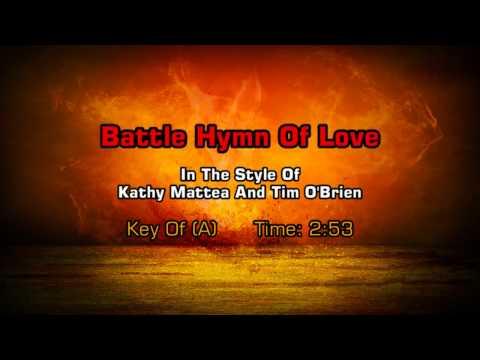 Kathy Mattea - The Battle Hymn Of Love (Backing Track)