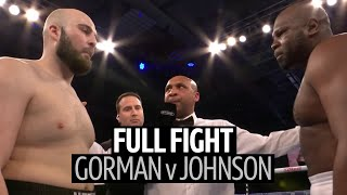 Full Fight: Nathan Gorman v Kevin Johnson