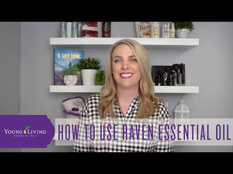 how-to-use-raven-essential-oil-|-young-living