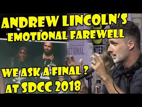 Andrew Lincoln Says Goodbye & Responds To Our SDCC Question Mp3
