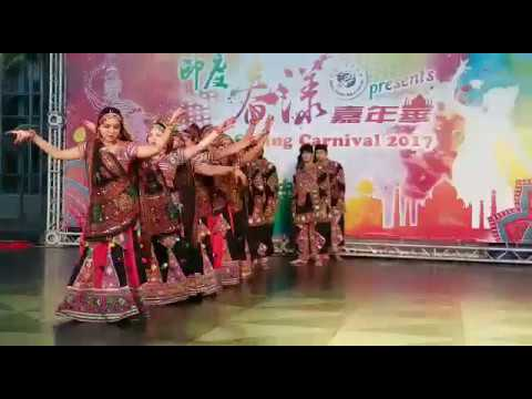 Gujarati folk dance, Garba, presented by Taiwan Indian's Club