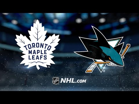 Heed helps Sharks top Maple Leafs, 3-2