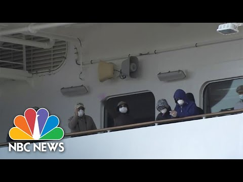 U.S. To Evacuate Americans Trapped On Quarantined Cruise Ship Off Japan | NBC Nightly News