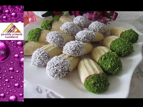 3 Malzemeli Kıyır Kıyır Kurabiye Tarifi- Pratik Yemek Tarifleri