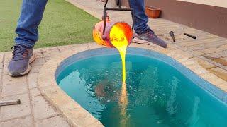 Experiment: Lava Vs Pool