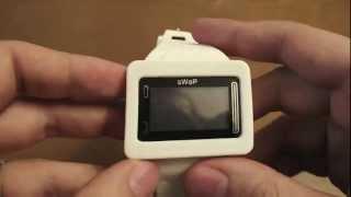 sWaP Smartwatch Rebel обзор часов-телефона(Современные и технологичные часы, отличающиеся прекрасным качеством исполнения и надежностью в сравнении..., 2012-12-28T12:47:20.000Z)