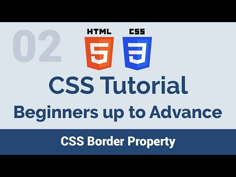 02 CSS Border property - beginners up to advance css tutorial thumbnail