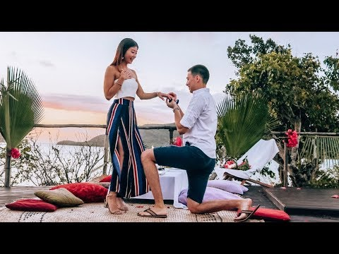 SURPRISE PROPOSAL! We Got Engaged in Fiji ◆ Emi & Chad ◆