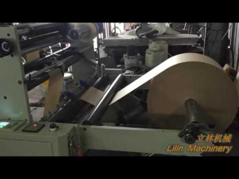 LSD-700+ST-41100 Automatic High Speed Paper Bag Machine With Flexo Printing Machine