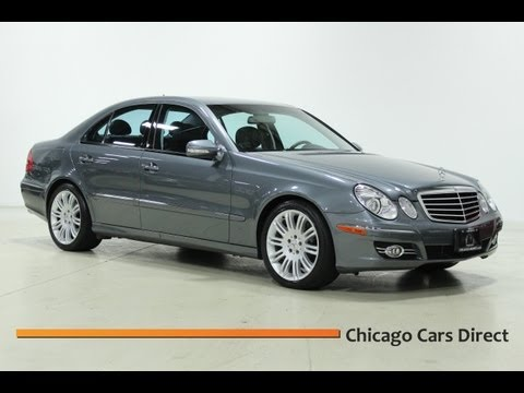 Chicago Cars Direct Presents This 2007 Mercedes-Benz E350 Sport Sedan in High Definition (HD Video)