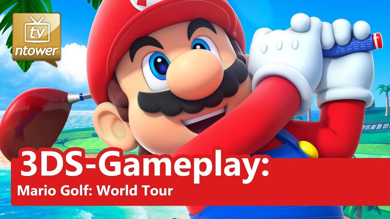 3DS-Gameplay: Mario Golf: World Tour