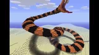 minecraft wąż