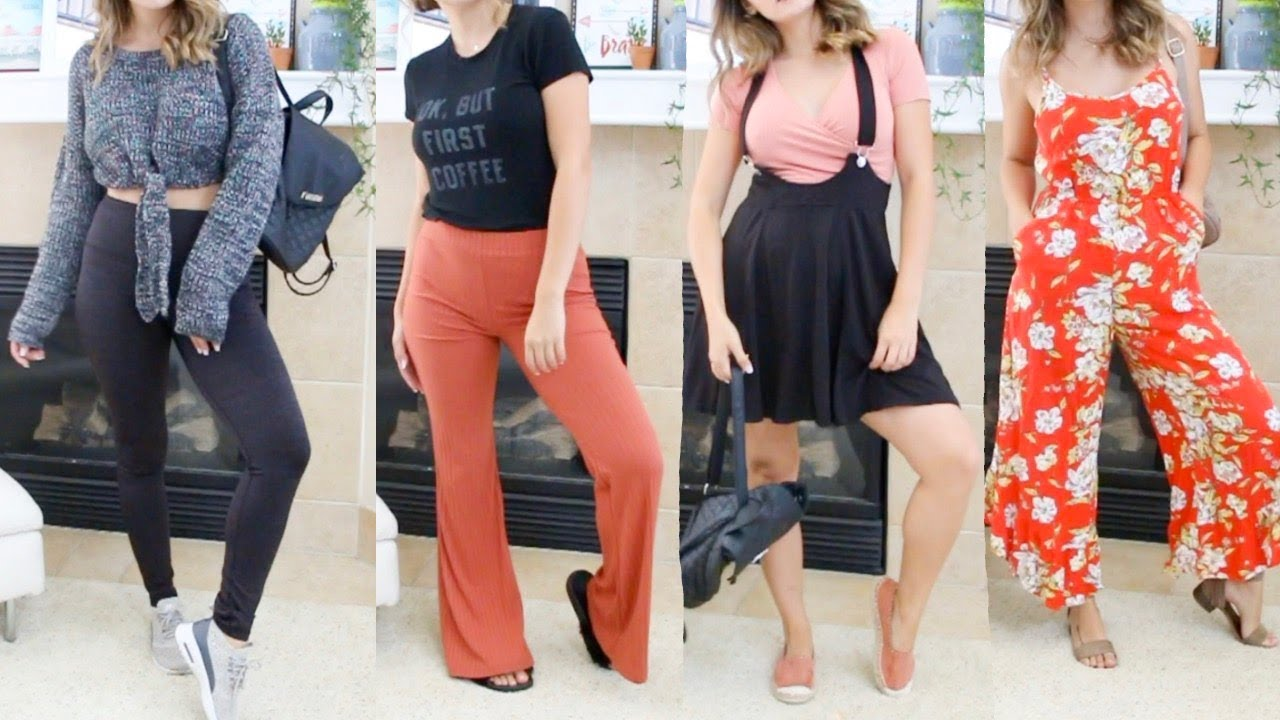 [VIDEO] - BACK TO SCHOOL OUTFIT IDEAS - COLLEGE EDITION   Mercades Danielle 9