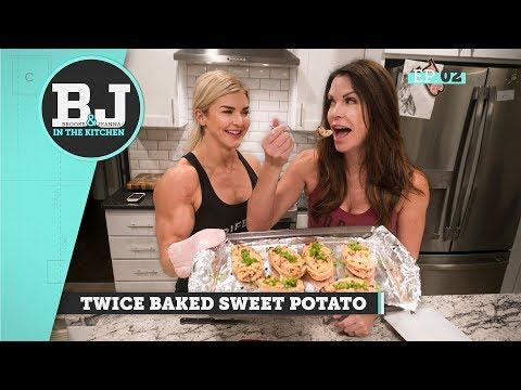 Brooke & Jeanna In The Kitchen - Twice Baked Sweet Potato