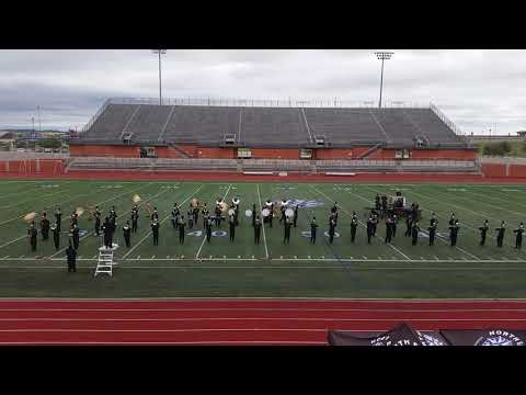 UIL Region 12 Marching contest featuring Marion Tx Bulldogs HS Marching Band 2018