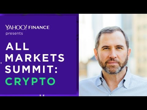 Ripple CEO Brad Garlinghouse Speaking at Yahoo Finance Crypto Summit in NYC