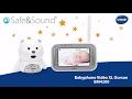 Démo Babyphone Vidéo XL Ourson BM4200 (Safe & Sound) de VTech
