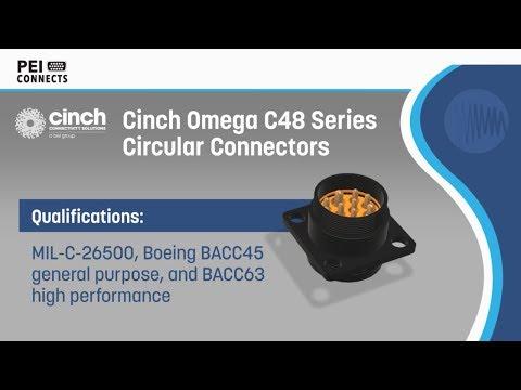 Cinch MIL-C-26500 / BACC (Omega) Connectors | PEI-Genesis