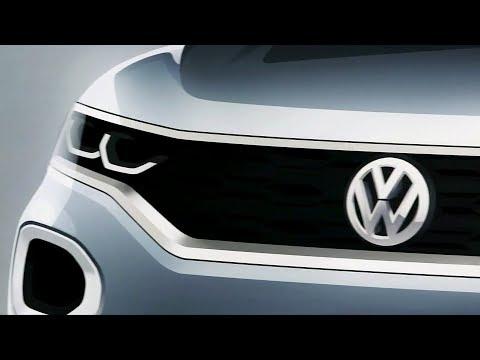 2018 Volkswagen T-Roc Teaser – Exterior Design