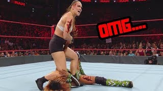WWE Ronda Rousey WWE Debut  Vs Alicia Fox On Raw 13 August,2018