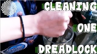 Cleaning One Dreadlock