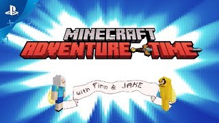 Minecraft - Adventure Time Mash Up Trailer | PS4, PS3, PS Vita